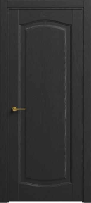 Межкомнатная дверь Софья Classic Ясень черный эмаль структурированная 36.65