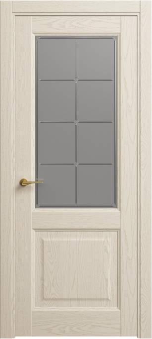 Межкомнатная дверь Софья Classic Ясень бежевый, эмаль структурированная 43.152