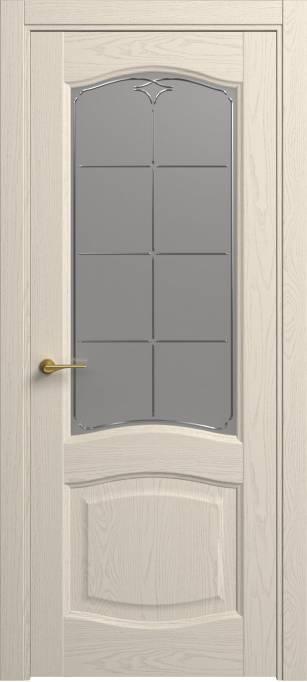 Межкомнатная дверь Sofia Classic Ясень бежевый, эмаль структурированная 43.54