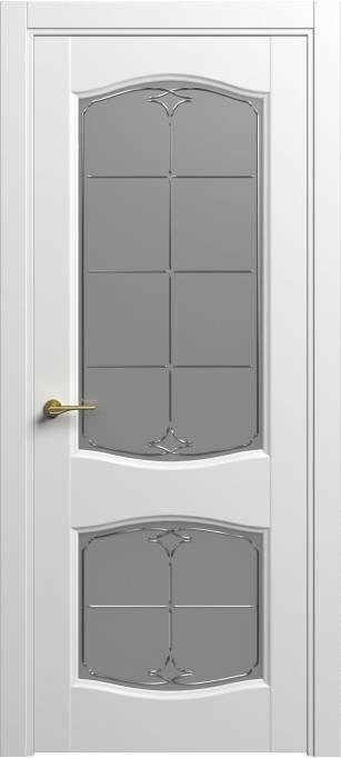 Межкомнатная дверь Софья Classic Белый шелк 90.147