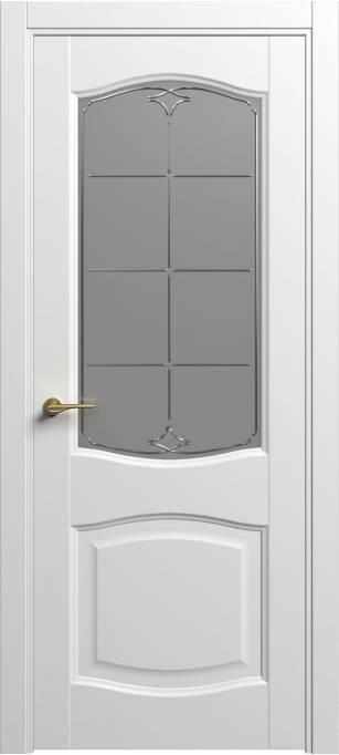 Межкомнатная дверь Софья Classic Белый шелк 90.157