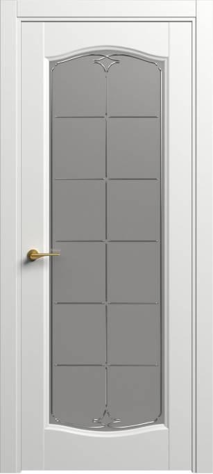 Межкомнатная дверь Софья Classic Белый шелк 90.55