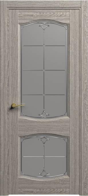 Межкомнатная дверь Софья Classic Tweed, кортекс 153.147