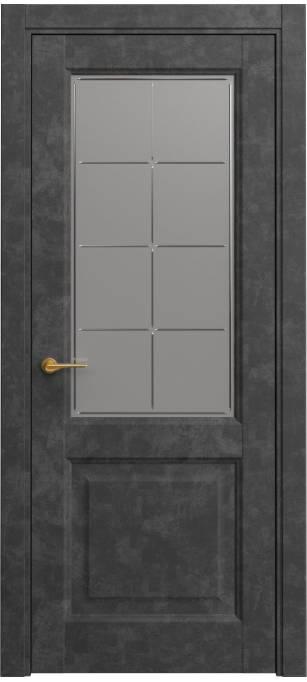 Межкомнатная дверь Sofia Classic Темный бетон, кортекс 231.152