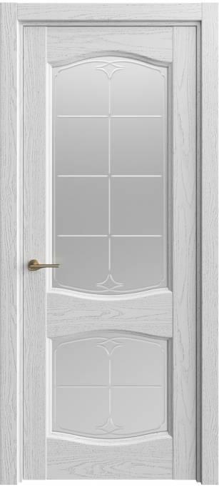 Межкомнатная дверь Sofia Classic Ясень-светло серый, эмаль структурированная 300.147