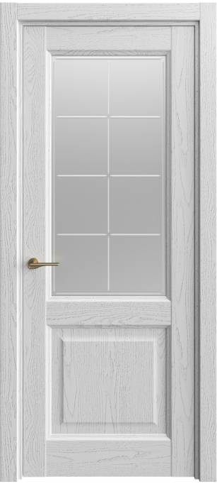 Межкомнатная дверь Sofia Classic Ясень-светло серый, эмаль структурированная 300.152