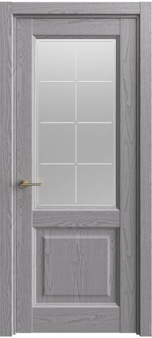 Межкомнатная дверь Sofia Classic Ясень дымчатый, эмаль структурированная 302.152