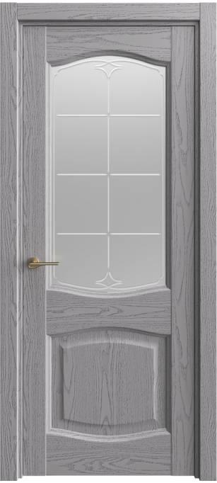 Межкомнатная дверь Sofia Classic Ясень дымчатый, эмаль структурированная 302.157