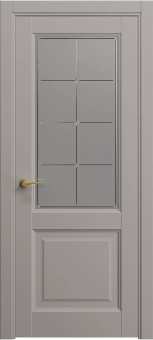 Межкомнатная дверь Софья Classic Темно-серый шелк 330.152