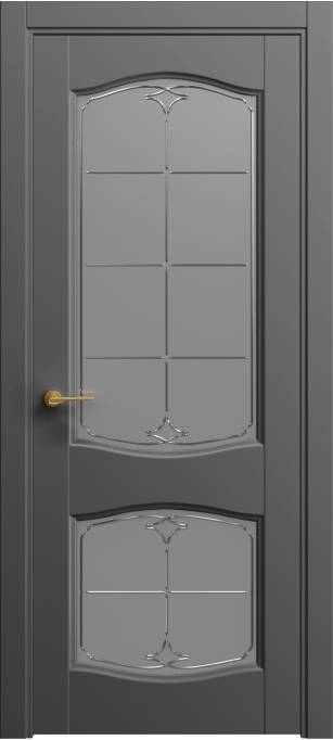 Межкомнатная дверь Софья Classic Грифельный шелк 331.147