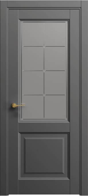 Межкомнатная дверь Софья грифельный шелк Тип: 331.52