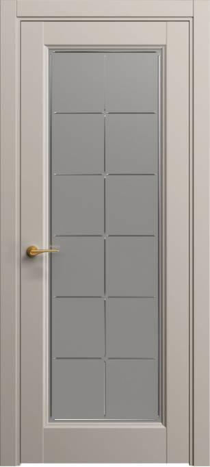 Межкомнатная дверь Софья Светло-серый шелк 332.51