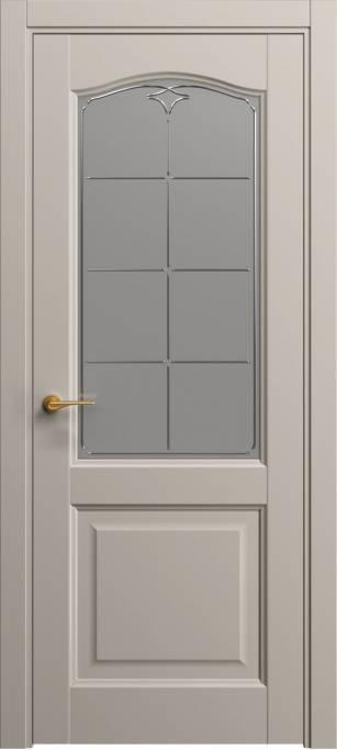 Межкомнатная дверь Софья Светло-серый шелк 332.53