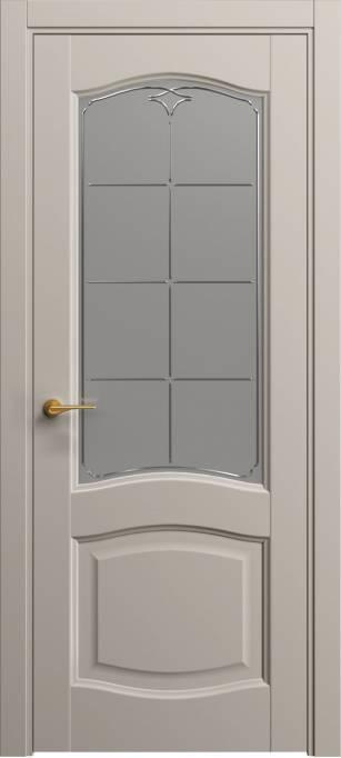 Межкомнатная дверь Софья Светло-серый шелк 332.54