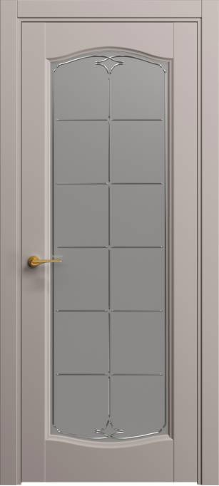 Межкомнатная дверь Софья Пепельно-розовый шелк 333.55