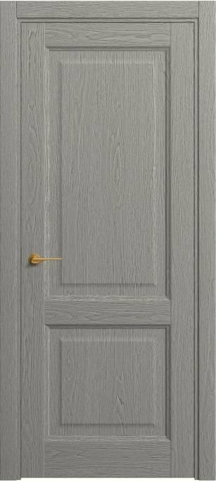 Межкомнатная дверь Софья Classic Серый дуб,натуральный шпон 380.162