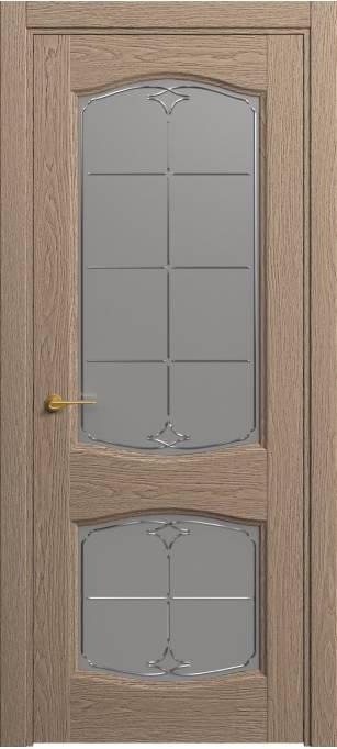 Межкомнатная дверь Софья Classic Песочный дуб, натуральный шпон 381.147