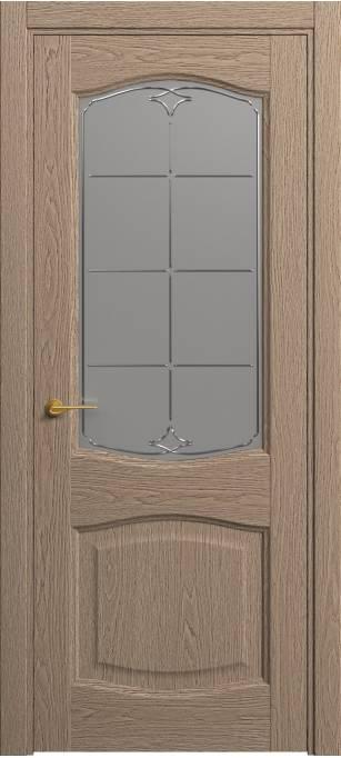Межкомнатная дверь Софья Classic Песочный дуб, натуральный шпон 381.157