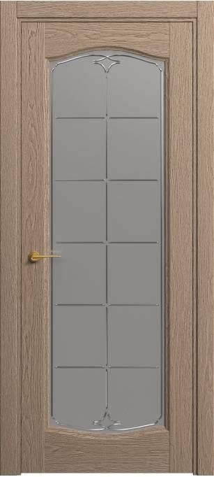 Межкомнатная дверь Софья Classic Песочный дуб, натуральный шпон 381.55