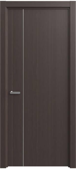 Межкомнатная дверь Софья Decor 215.29 Темный каштан, кортекс