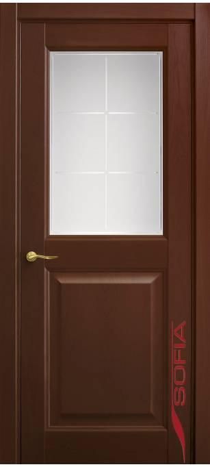 Межкомнатная дверь Софья Classic Красное дерево 30.52