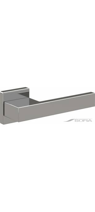 Дизайнерские дверные ручки Iris Хром глянец
