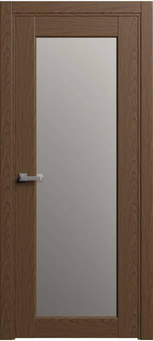 Межкомнатная дверь Софья Light Дуб тёмный 04.105