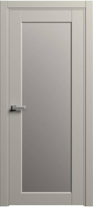 Межкомнатная дверь Софья Light Серый шелк 57.105