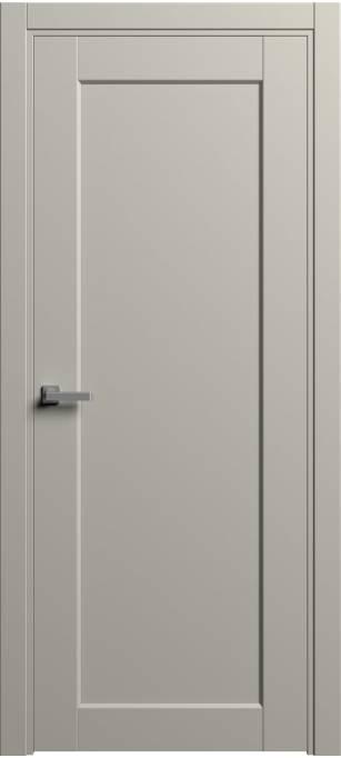 Межкомнатная дверь Софья Light темно-серый шелк 57.106