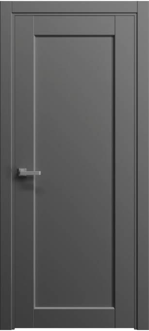 Межкомнатная дверь Софья Light Грифельный шелк 57.106