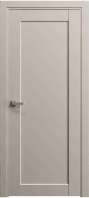 Межкомнатная дверь Софья Light Светло серый шелк 57.106