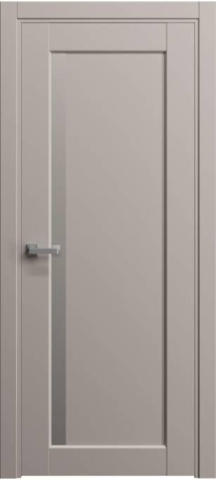 Межкомнатная дверь Софья Light пепельно розовый шелк 57.10