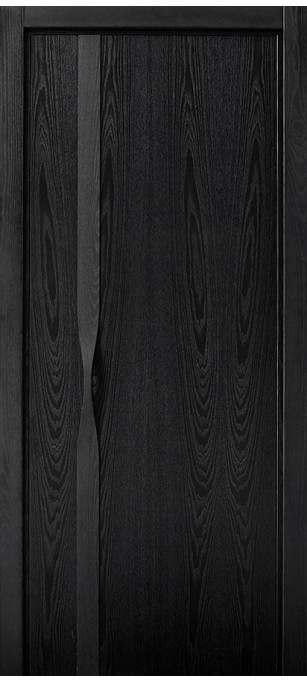 Межкомнатная дверь Софья Manigliona ясень черный 36ЯЧ.91