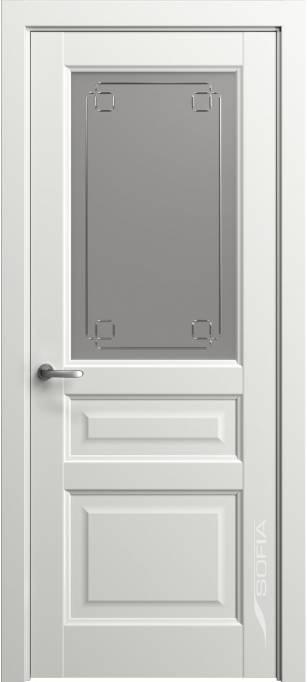 Межкомнатная дверь Софья Мастер и Маргарита Белый лак матовый 78.41Г-К4