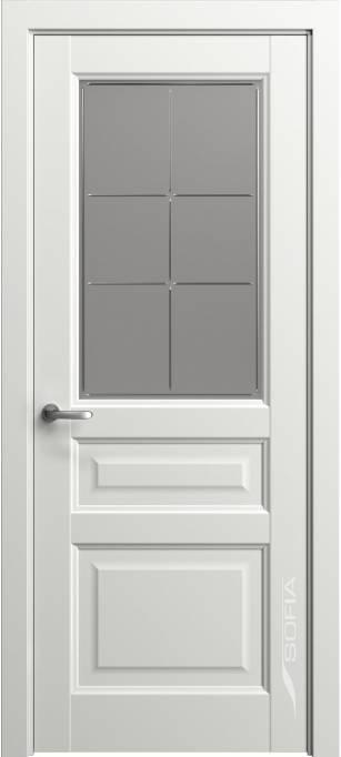 Межкомнатная дверь Софья Мастер и Маргарита Белый лак матовый 78.41Г-П6