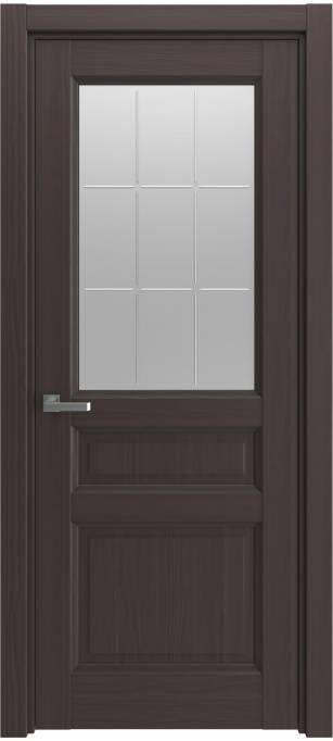 Межкомнатная дверь Elegant Темный каштан, кортекс 215.159