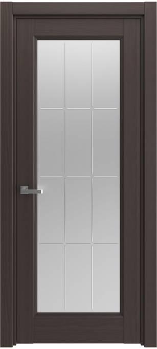 Межкомнатная дверь Elegant Темный каштан, кортекс 215.38