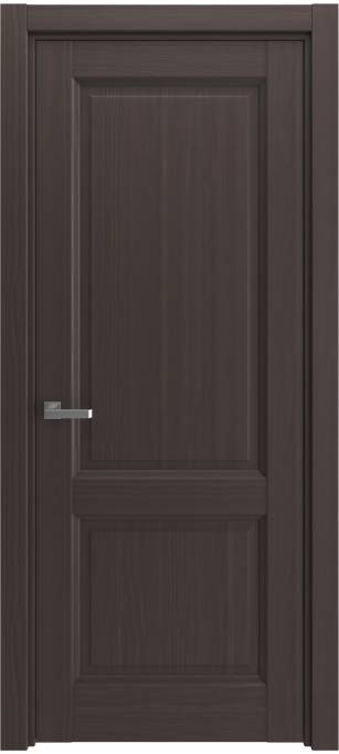 Межкомнатная дверь Elegant Темный каштан, кортекс 215.68