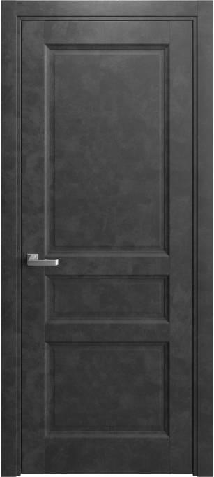 Межкомнатная дверь Elegant Темный бетон 231.169