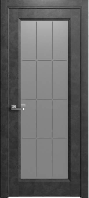 Межкомнатная дверь Elegant Темный бетон 231.38