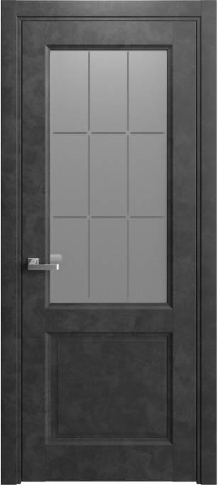 Межкомнатная дверь Elegant Темный бетон 231.58
