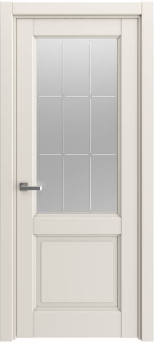Межкомнатная дверь Elegant Milky, монохромный кортекс 391.58