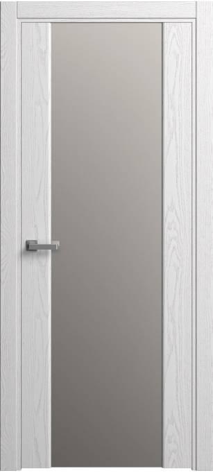 Межкомнатная дверь Софья Original Ясень белый, эмаль структурированная 35.01
