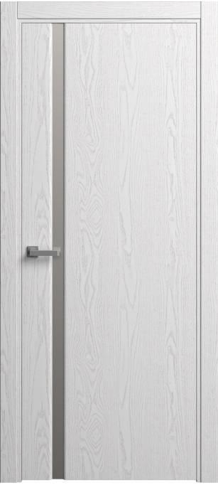 Межкомнатная дверь Sofia Original Ясень белый, эмаль структурированная 35.04