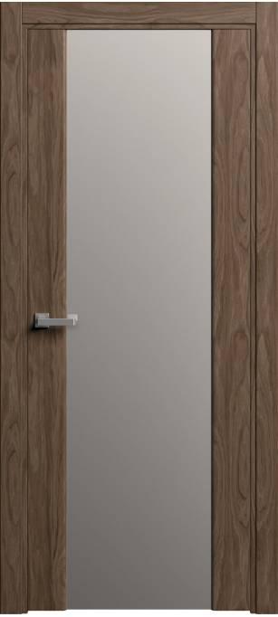 Межкомнатная дверь Софья Original Орех, шпон 88.01