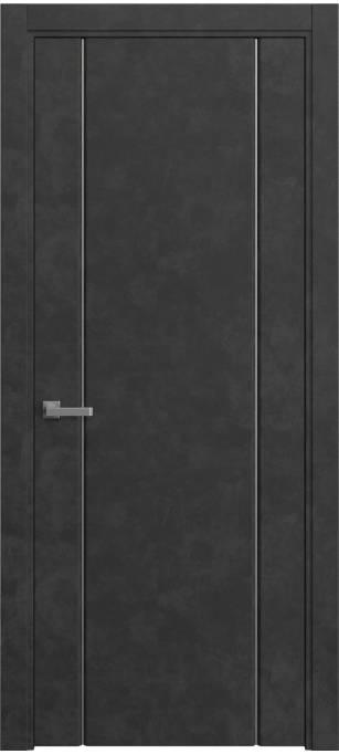 Межкомнатная дверь Sofia Original, Темный бетон, кортекс 231.03