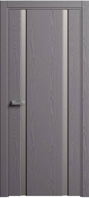 Межкомнатная дверь Sofia Original Ясень дымчатый, эмаль структурированная 302.02