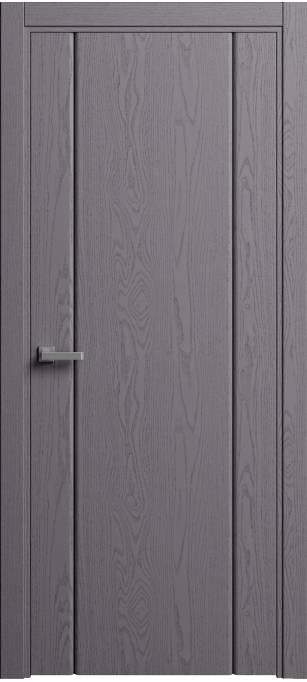 Межкомнатная дверь Sofia Original Ясень дымчатый, эмаль структурированная 302.03