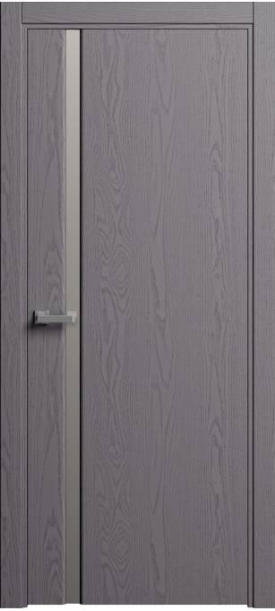 Межкомнатная дверь Sofia Original Ясень дымчатый, эмаль структурированная 302.04