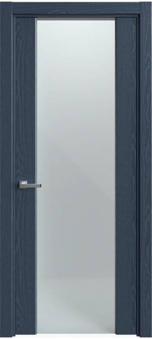 Межкомнатная дверь Sofia Original Темно-синий ясень, эмаль структурированная 310.01